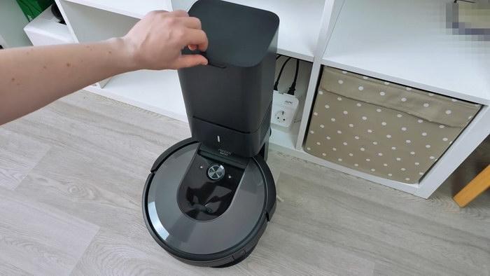 Видео Roomba i7+