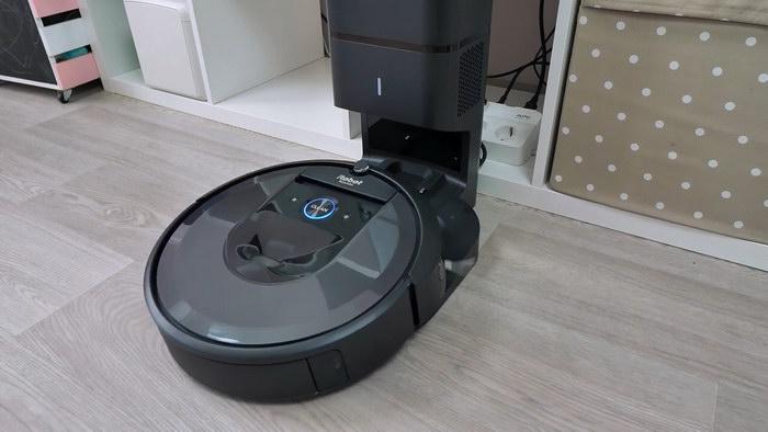 Видео Roomba i7