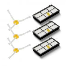 Комплект фильтров и боковых щеток для Roomba