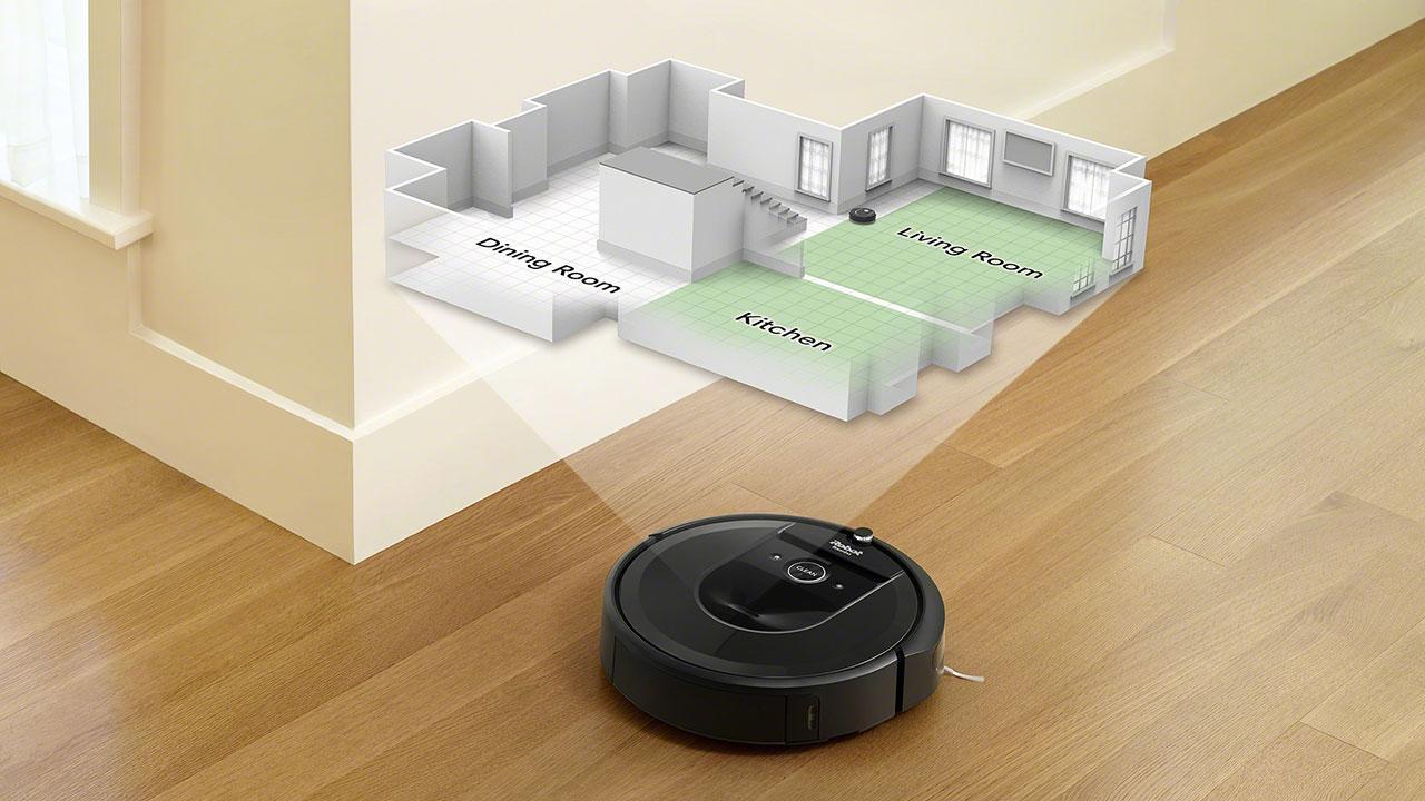 Roomba серии i технология imprint